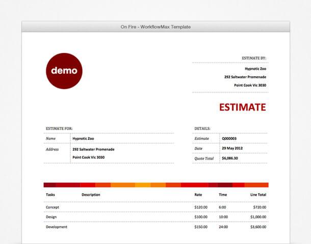 Xero Invoice Templates